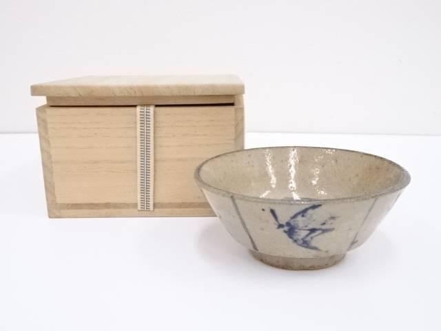 古物 呉須茶碗