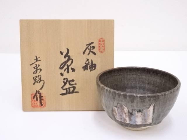 加藤土史路造 灰釉茶碗