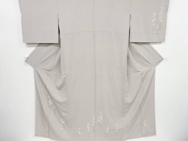 蘇州刺繍抽象樹木模様訪問着【リサイクル】【中古】