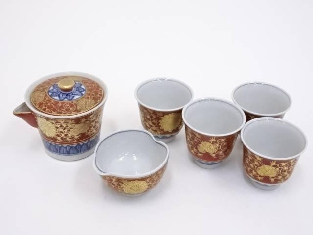 九谷焼 永楽手煎茶器セット