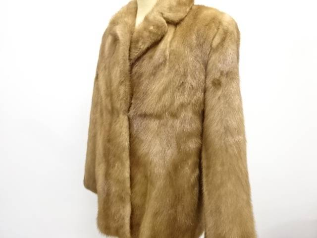 合計3980円以上の購入で送料無料 SAGA 限定特価 ミンクコート 中古 ギフト リサイクル