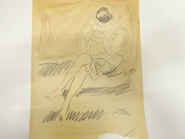 マックス・ペヒシュタイン(1881~1955) デッサン画