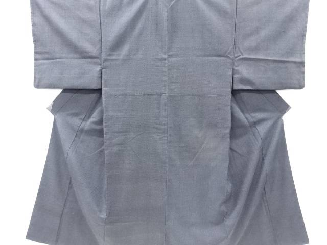 本塩沢100亀甲男物着物アンサンブル【リサイクル】【中古】