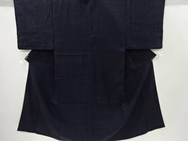 手織り真綿小千谷紬男物着物アンサンブル【リサイクル】【中古】