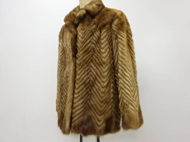 合計3980円以上の購入で送料無料 SAGA ミンクコート 供え 中古 リサイクル 高品質新品