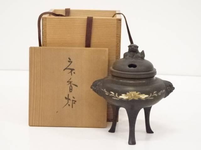 銅三足香炉