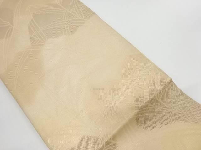 未使用品 笹模様織出し名古屋帯【リサイクル】【中古】
