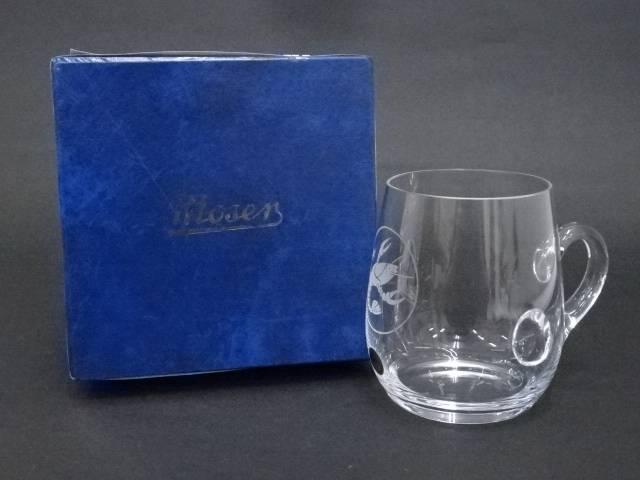 Moser モーゼル ガラス製ビアマグ