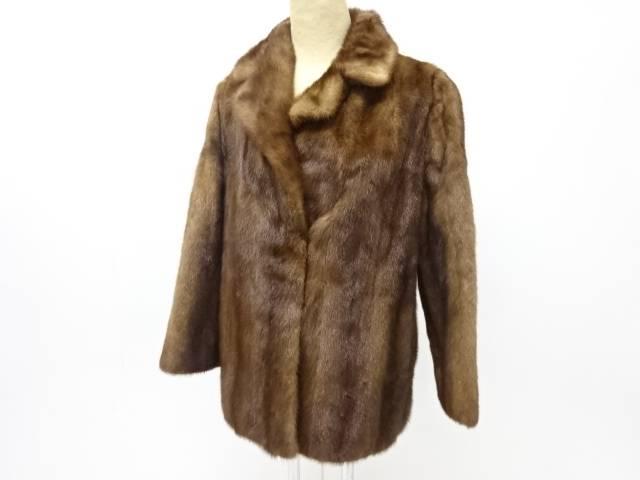 合計3980円以上の購入で送料無料 ミンクコート Seasonal Wrap入荷 驚きの値段で 13号 中古 リサイクル