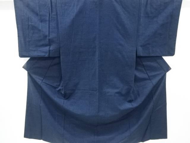 手織り真綿紬男物アンサンブル 長襦袢セット【リサイクル】【中古】