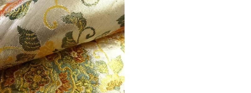 佐賀錦 花鳥丸紋織り出し袋帯 リサイクルCexBrWdo