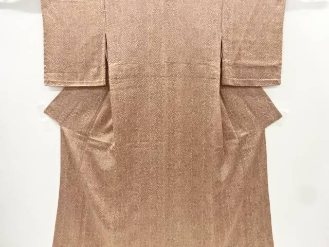 合計3980円以上の購入で送料無料 板締め絞り単衣小紋着物 入荷予定 お得 リサイクル 中古