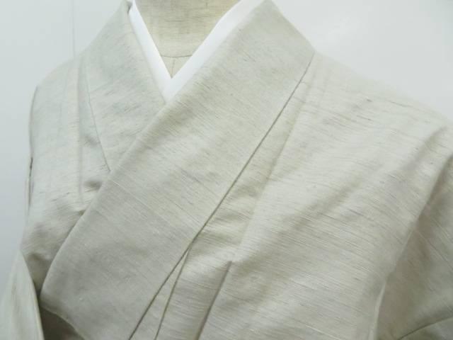 紬 単衣 着物【リサイクル】【中古】