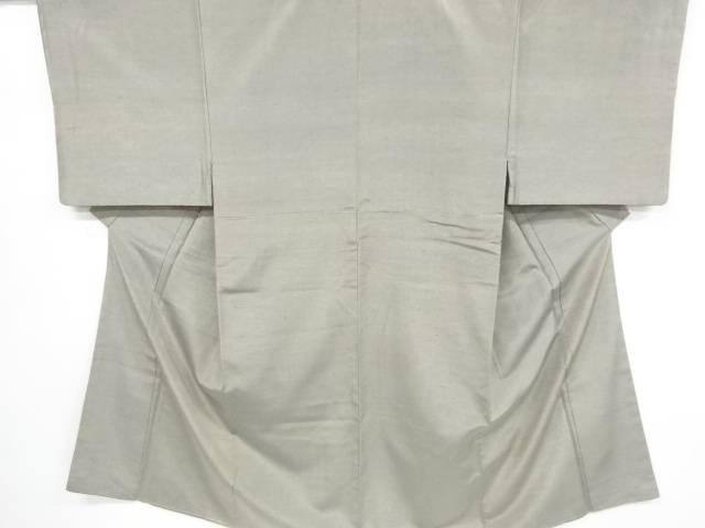 手織り節紬男物着物アンサンブル長襦袢セット【リサイクル】【中古】