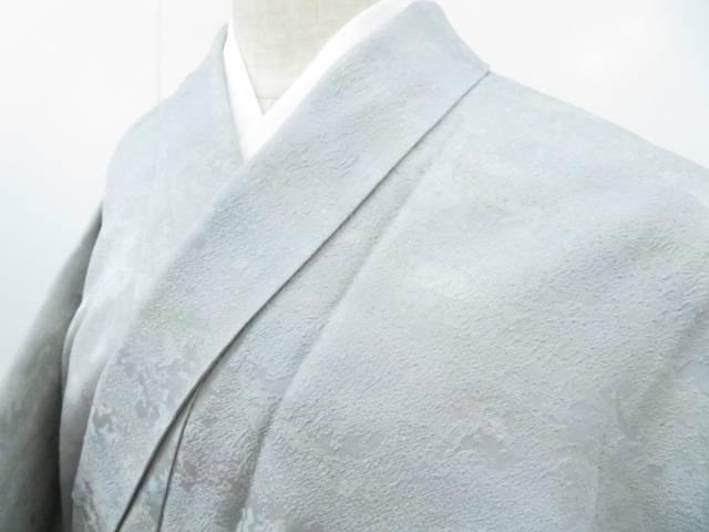 小紋 暈し 落款入り 作家物 地紋入り 着物【リサイクル】【中古】