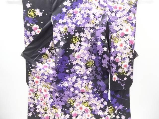 仕立て上がり HENRI-LUC CHAPUIS 桜模様振袖【新品】