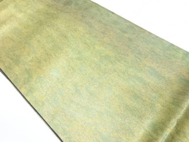 引箔抽象模様袋帯【リサイクル】【中古】