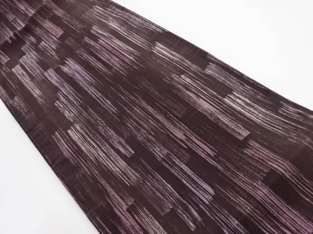 刷毛目模様全通袋帯【リサイクル】【中古】