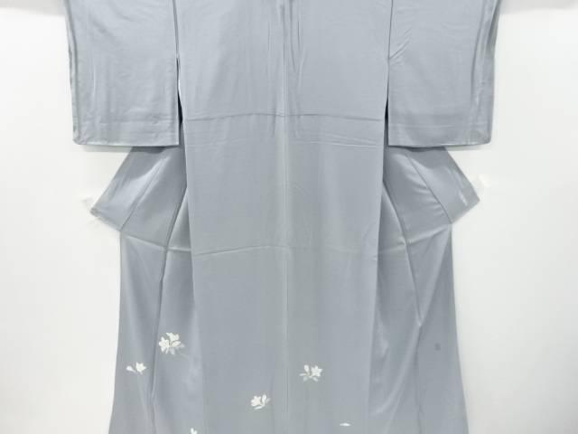 未使用品 作家物 手描友禅百合模様一つ紋色留袖【リサイクル】【中古】
