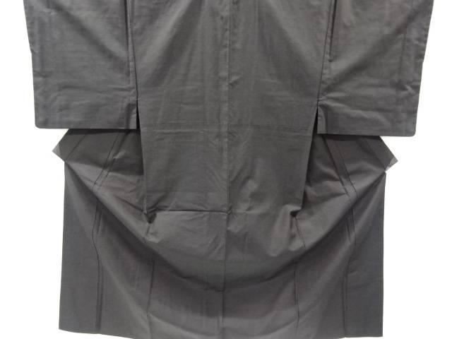 手織り真綿紬男物着物アンサンブル(長身キングサイズ)【リサイクル】【中古】