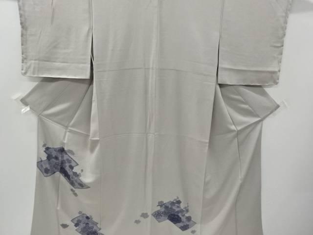 汕頭蘇州刺繍牡丹・松・梅・椿模様訪問着【リサイクル】【中古】