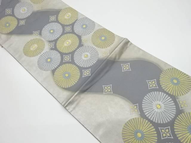 松の授文織出し袋帯【リサイクル】【中古】
