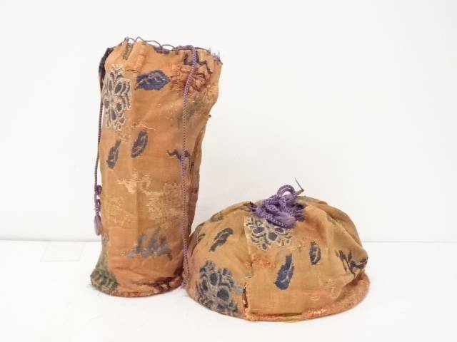 古物 小鼓胴袋・革用袋 セット