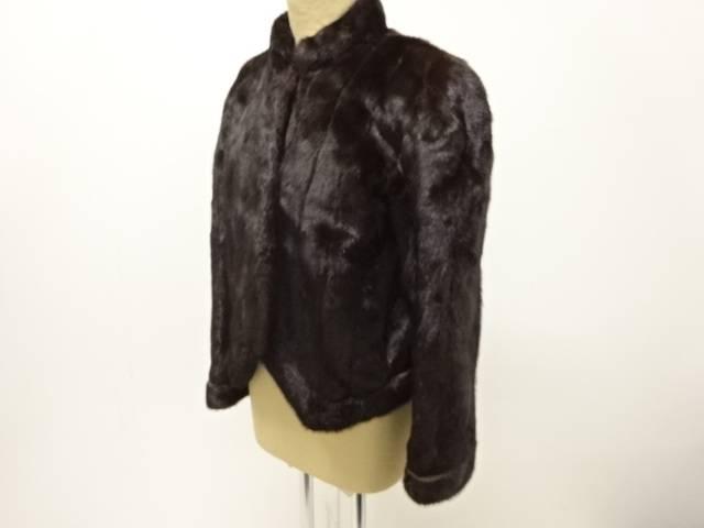 合計3980円以上の購入で送料無料 jun ashida SAGA MINKジャケット 激安通販ショッピング 11号 市販 リサイクル 中古