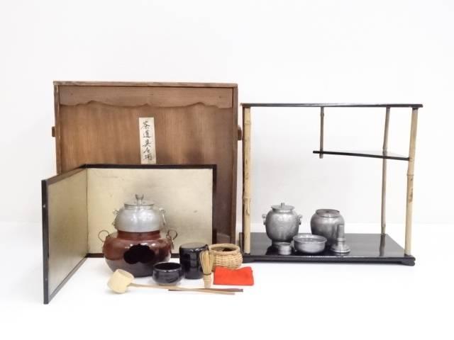 ミニチュア茶道具セット