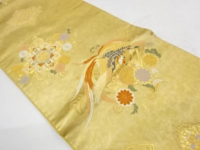 宝相瑞華鳥文織出し袋帯【リサイクル】:Kimono-Shinei 2号店