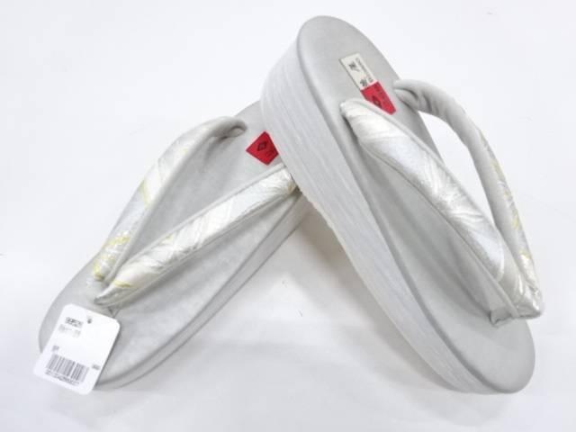 和装小物 菱屋謹製 CALEN BLOSSO CAFE ZORI(鼻緒河合美術織物)(Mサイズ)【新品】