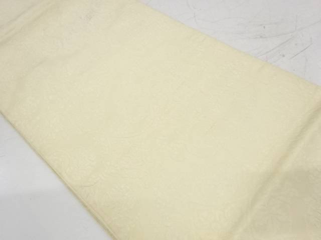 合計3980円以上の購入で送料無料 売れ筋 草花模様織出し袋帯 材料 中古 定価 アンティーク