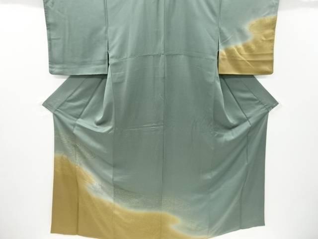 合計3980円以上の購入で送料無料 金彩柳模様刺繍訪問着 リサイクル 中古 卓越 激安
