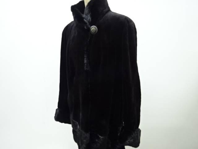 SAGA シェアードミンクコート【リサイクル】【中古】