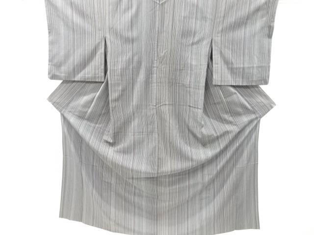 合計3980円以上の購入で送料無料 縞織り出し本塩沢単衣着物 リサイクル 結婚祝い ご注文で当日配送 中古