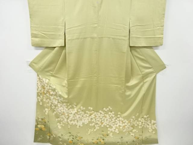 合計3980円以上の購入で送料無料 菊 枝梅 リサイクル 中古 お得なキャンペーンを実施中 桜模様刺繍一つ紋色留袖 プレゼント