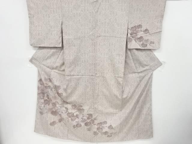 合計3980円以上の購入で送料無料 買い取り 相良刺繍 色紙に菊 梅 葡萄模様訪問着 中古 超激安特価 リサイクル