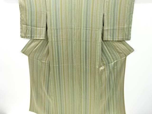 合計3980円以上の購入で送料無料 縞模様単衣小紋着物 リサイクル 中古 NEW スーパーセール