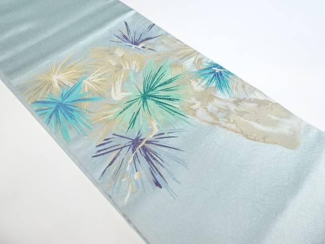 合計3980円以上の購入で送料無料 未使用品 豊富な品 抽象模様織り出し袋帯 リサイクル 発売モデル 中古