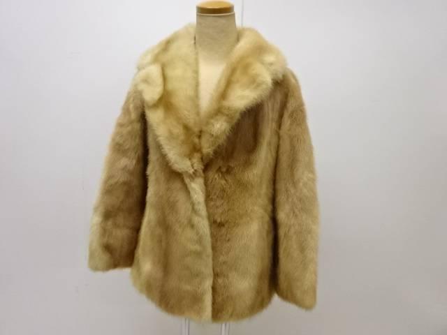 正規販売店 合計3980円以上の購入で送料無料 ミンクジャケット 9号 リサイクル 中古 格安 価格でご提供いたします