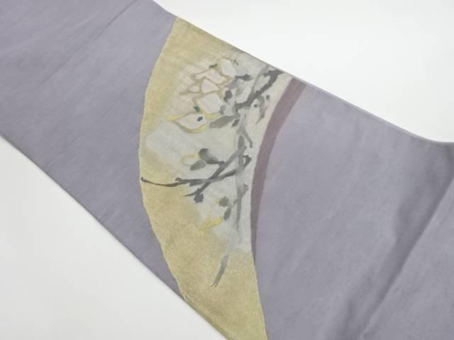 合計3980円以上の購入で送料無料 正規品 すくい織枝に蕾模様織出し洒落袋帯 リサイクル ランキングTOP10 中古