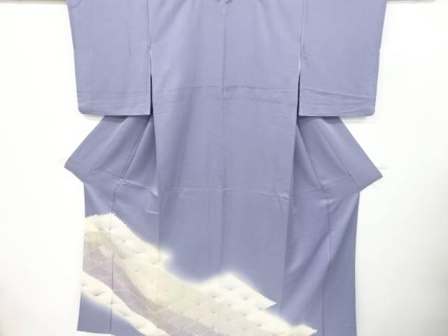 合計3980円以上の購入で送料無料 激安通販ショッピング 永遠の定番 松葉菱模様刺繍一つ紋色留袖 中古 リサイクル
