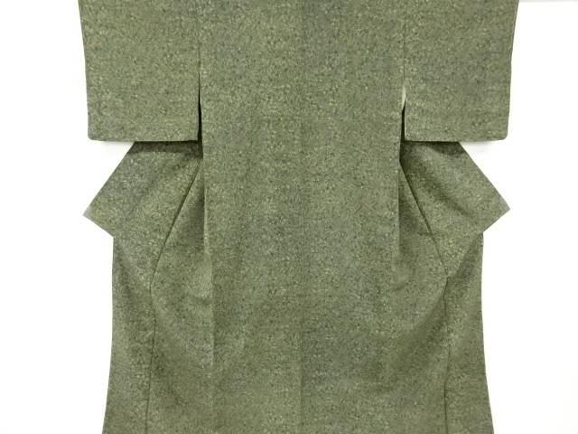 公式ショップ 100%品質保証 合計3980円以上の購入で送料無料 未使用品 更勝作 中古 リサイクル 花更紗模様小紋着物