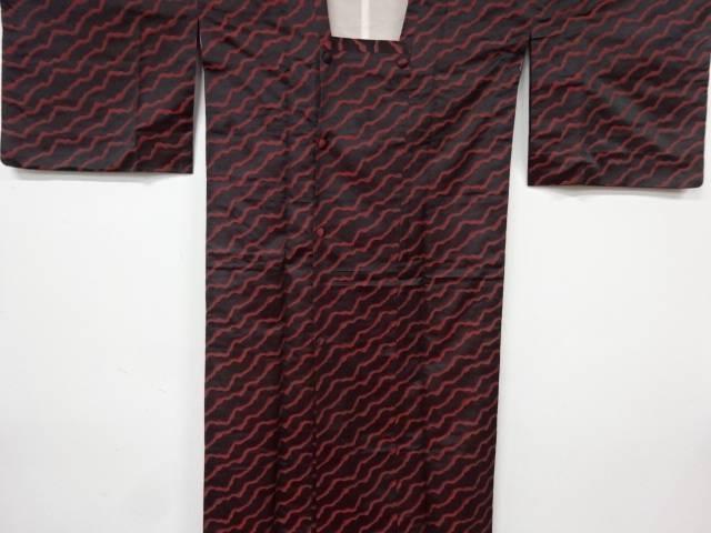 超定番 合計3980円以上の購入で送料無料 マーケティング 抽象模様織出し雨コート リサイクル 中古