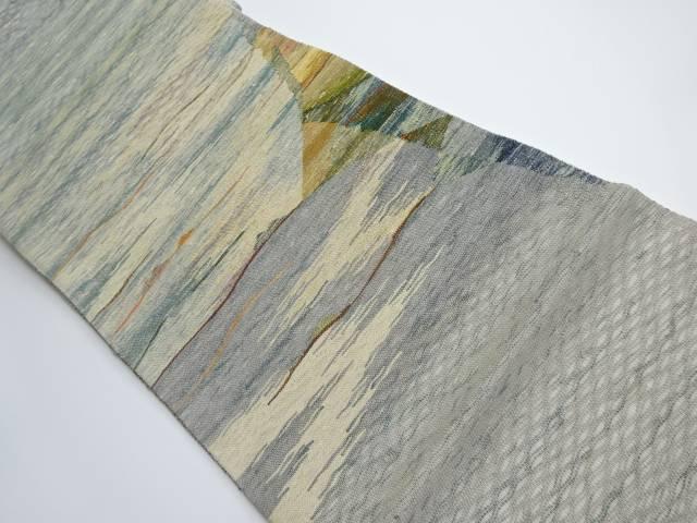 合計3980円以上の購入で送料無料 すくい織り抽象模様織り出し袋帯 リサイクル 中古 供え 本日限定