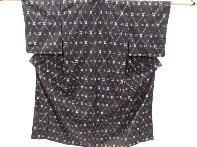 合計3980円以上の購入で送料無料 米沢琉球絣着物アンサンブル リサイクル 中古 贈与 返品不可
