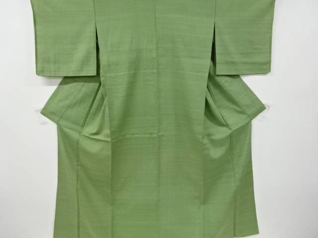 2020年激安 横段織り出し手織り紬単衣着物【リサイクル】, RE:LIFE cfeaddc0