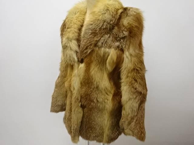 人気 おすすめ 合計3980円以上の購入で送料無料 FOXコート 5%OFF 中古 アンティーク