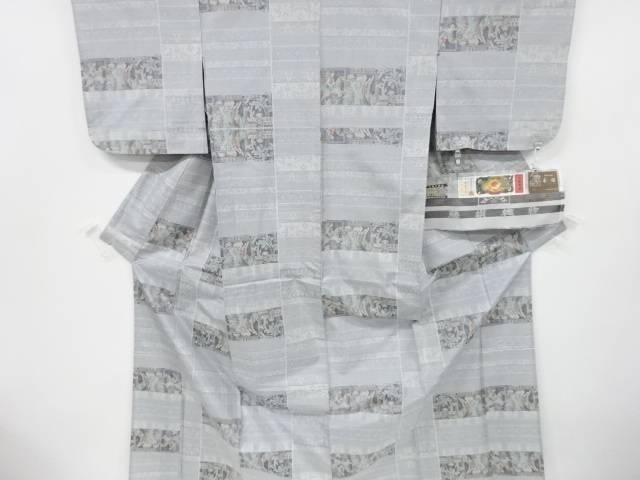 合計3980円以上の購入で送料無料 大特価!! 藤絹織物製 初回限定 古代への誘い 織り出し本場大島紬単衣着物 中古 リサイクル 5マルキ