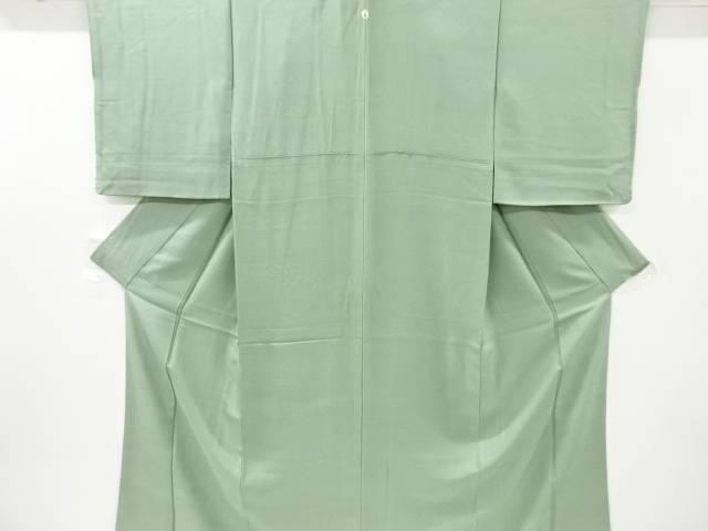 合計3980円以上の購入で送料無料 花古典柄織り出し一つ紋色無地着物 中古 リサイクル 価格交渉OK送料無料 春の新作